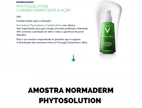 AMOSTRA VICHY NORMADERM 2020